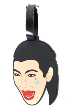 Crying Kim ProandHop Luggage Tag