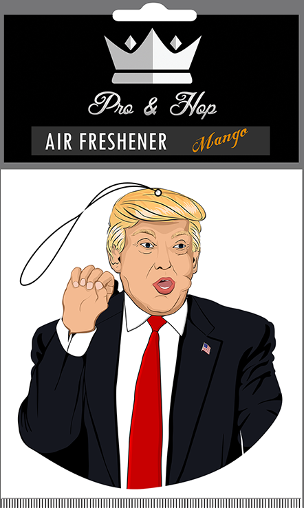 Trump Flirting ProandHop / Air Freshener