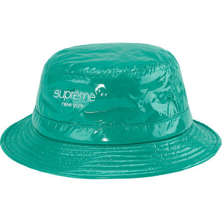 NEW FW19 Supreme Shiny Nylon Crusher - Teal (M/L)