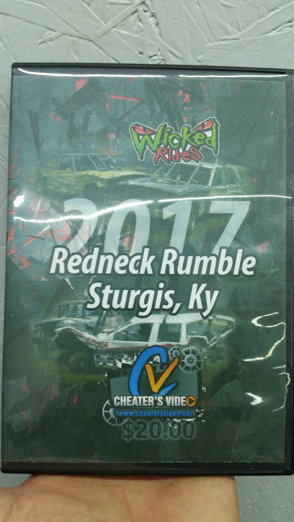 Redneck Rumble 2017 DVD