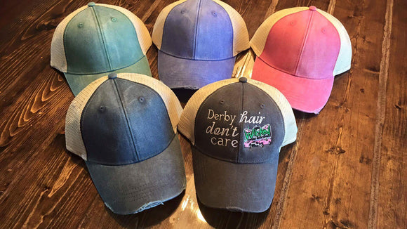 Derby Hair Don't Care Hat