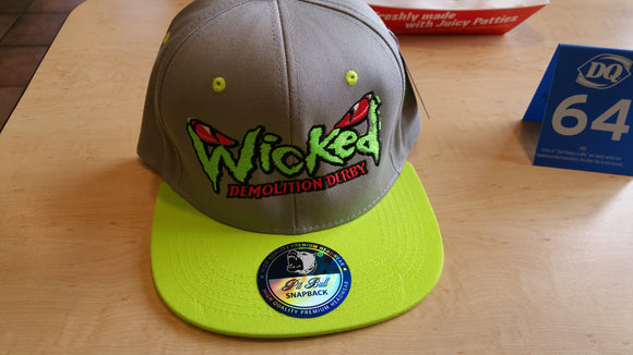 Wicked Throw Back Hat