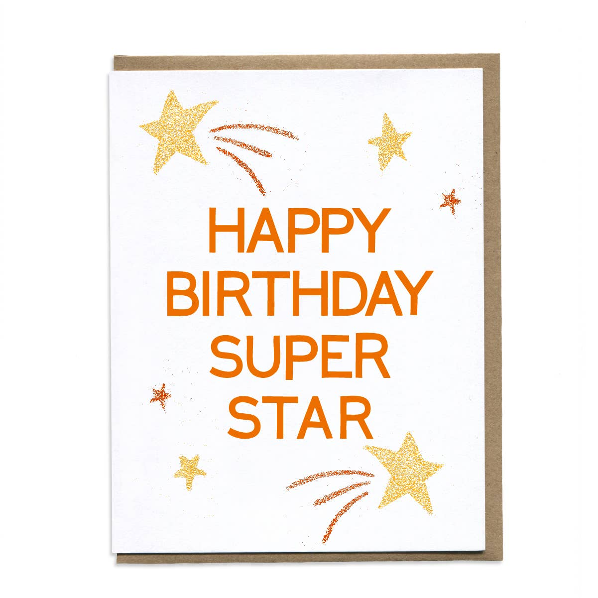 HBD Super Star greeting card
