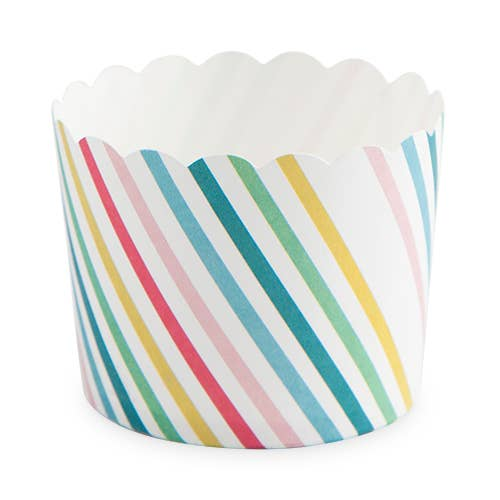 Sugar & Striped Treat Cups