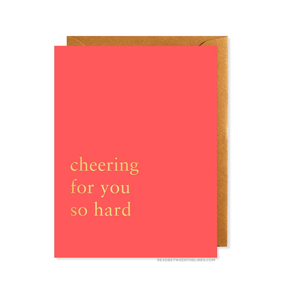 Cheering For You Card