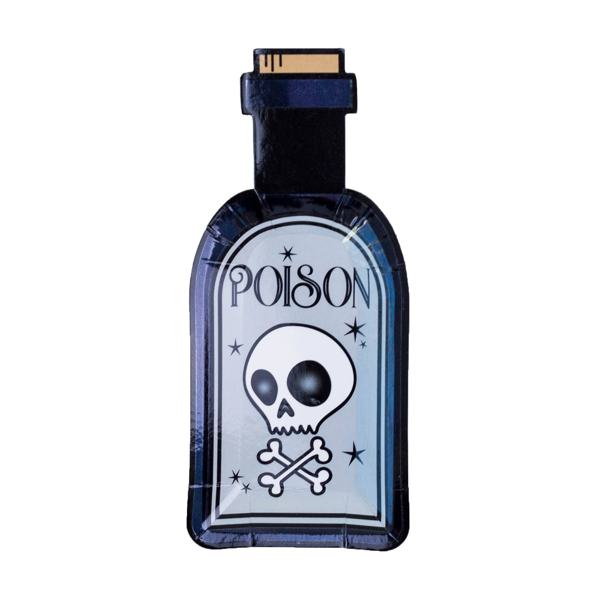 Poison Bottle Canapé Plates