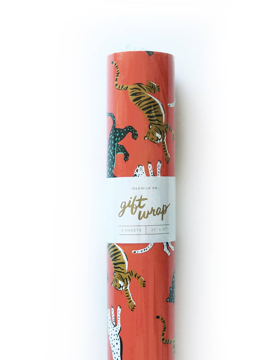 Big Cats Gift Wrap - Roll of 3