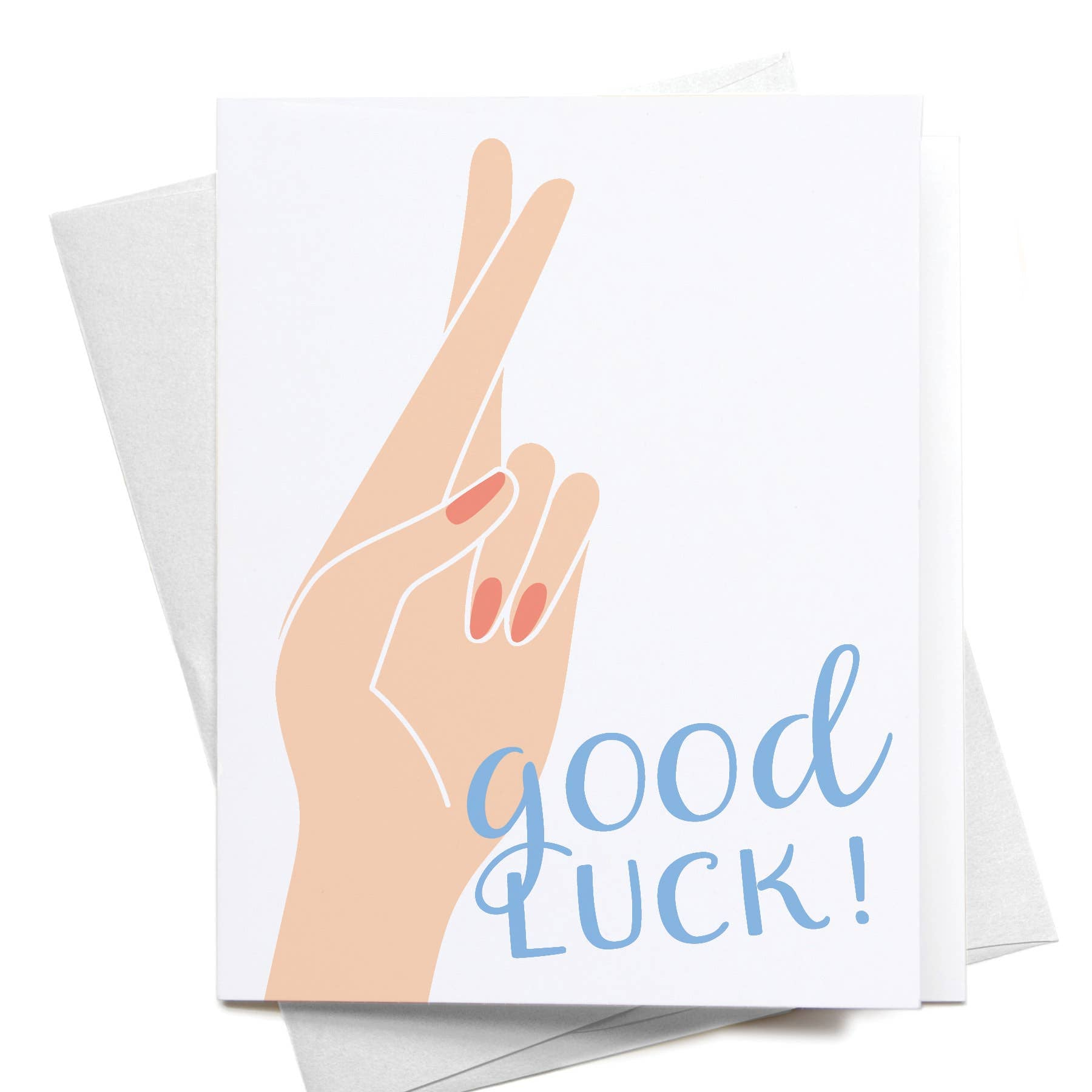Good Luck! Crossed Fingers
