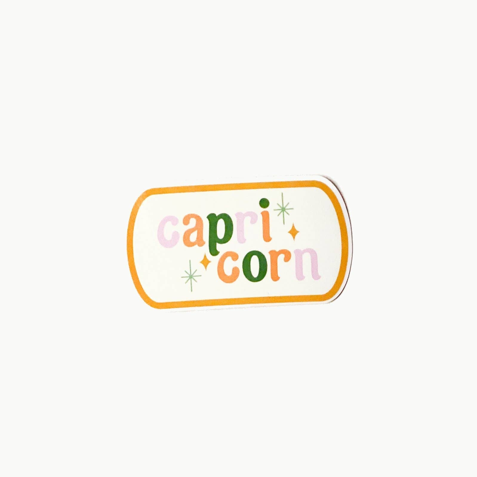 Capricorn Clear Die Cut Sticker