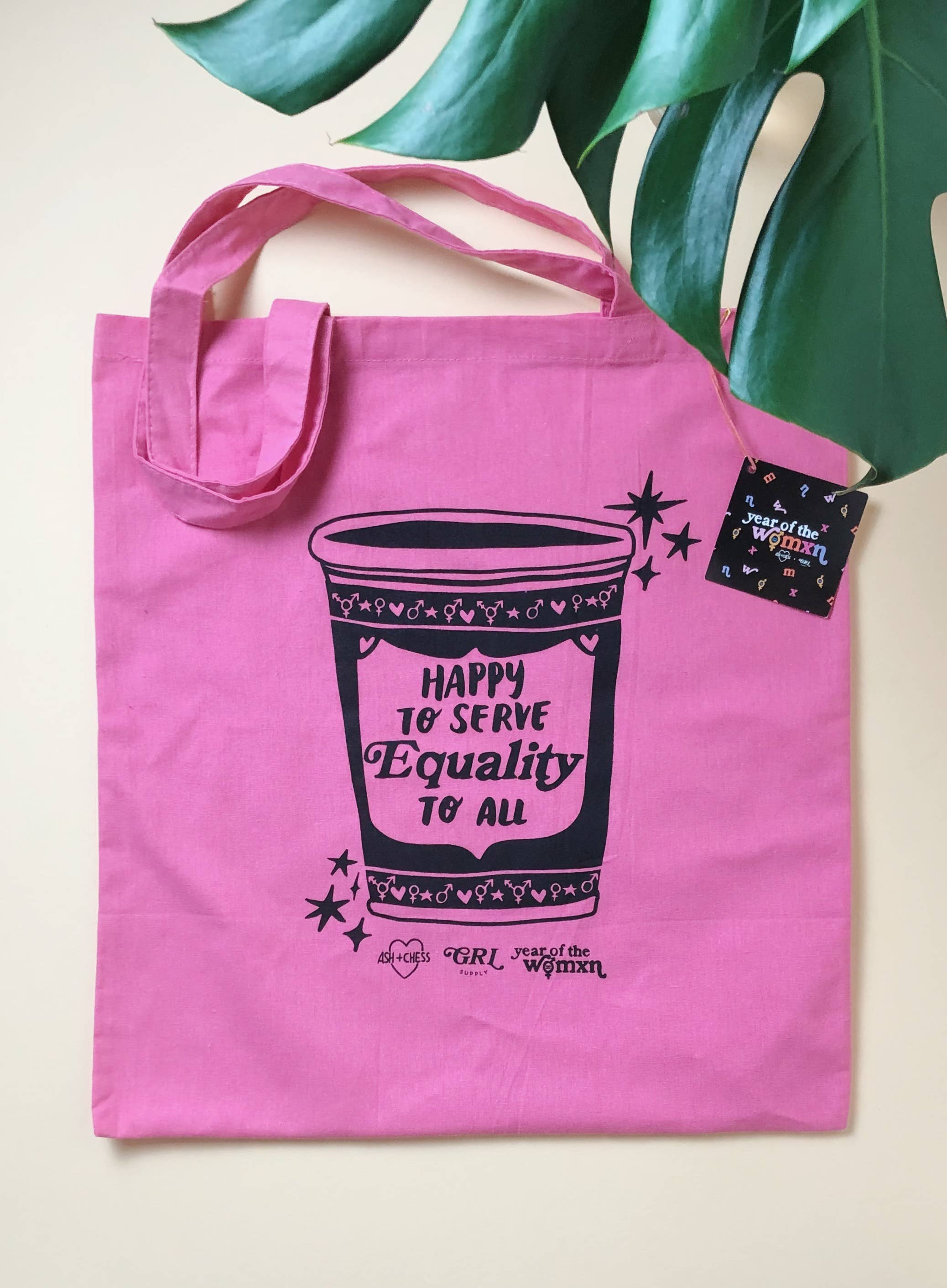 Equality Coffee tote bag