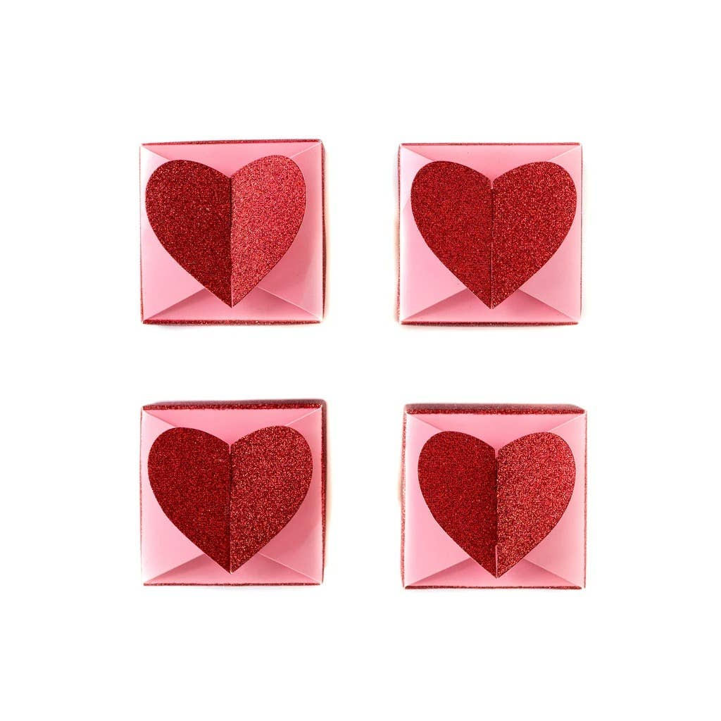 Valentine Heart Favor Boxes