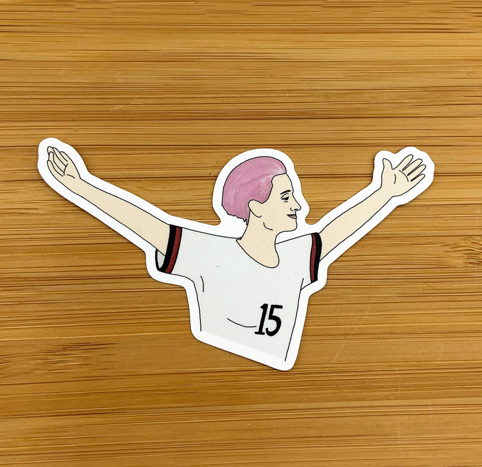 Megan Rapinoe Sticker