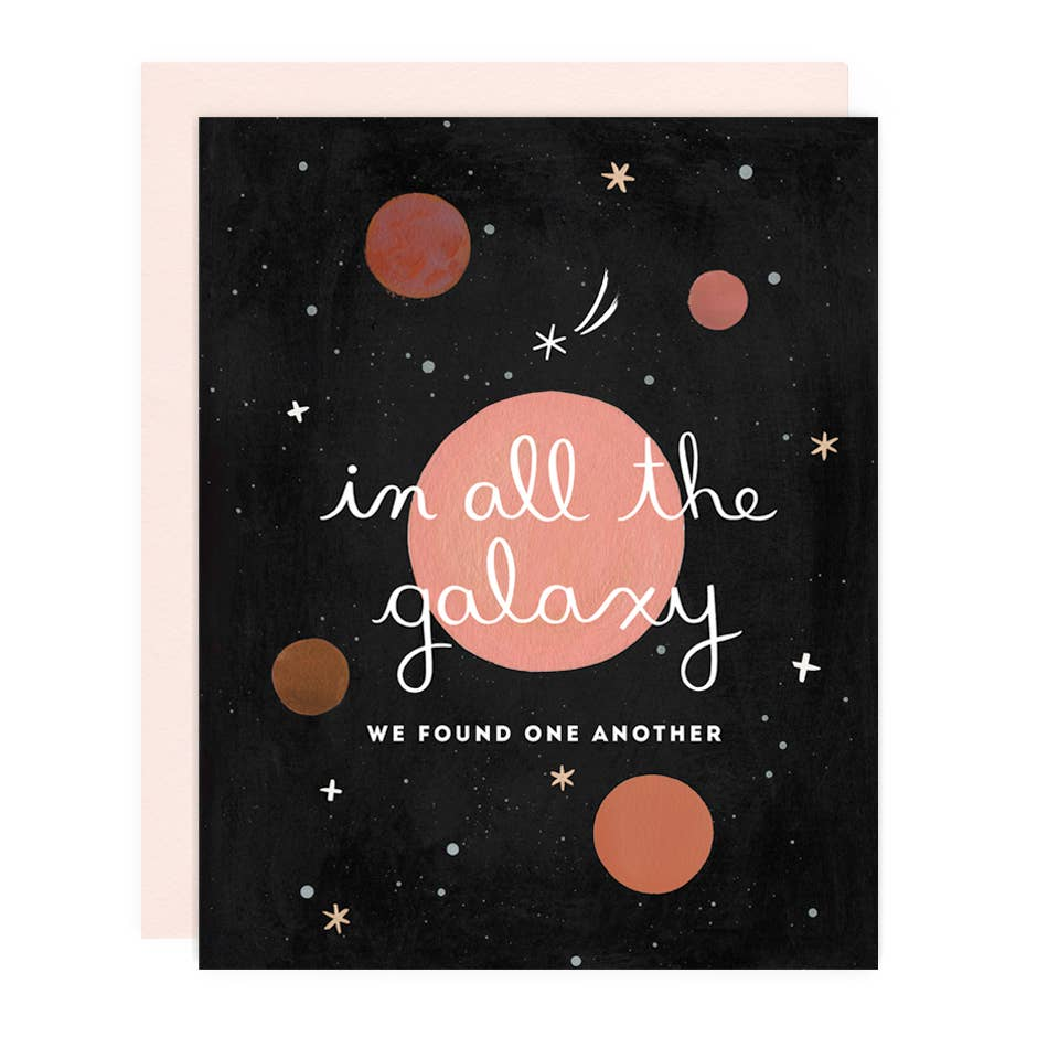 In All The Galaxy Greeting Card