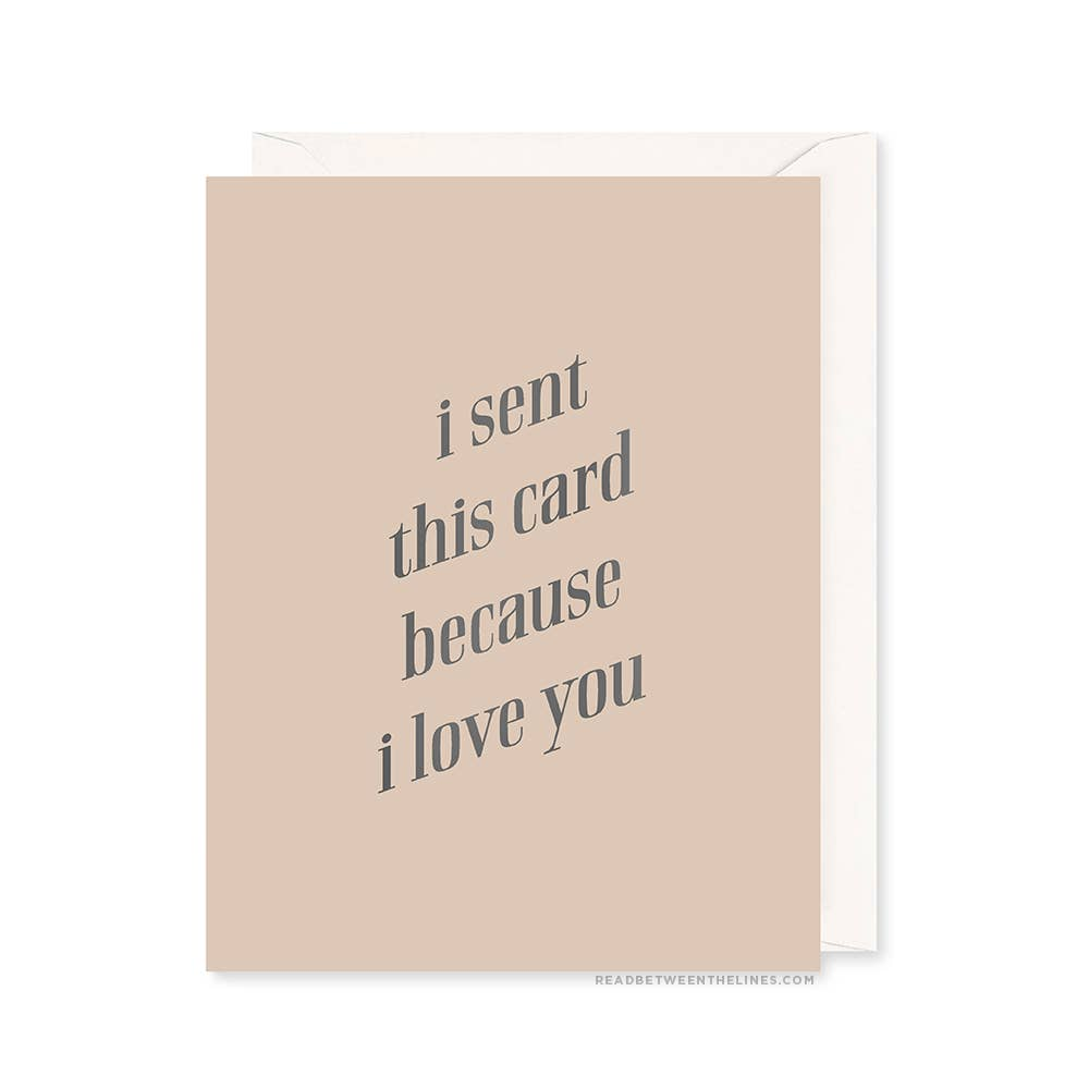 Sent This Card