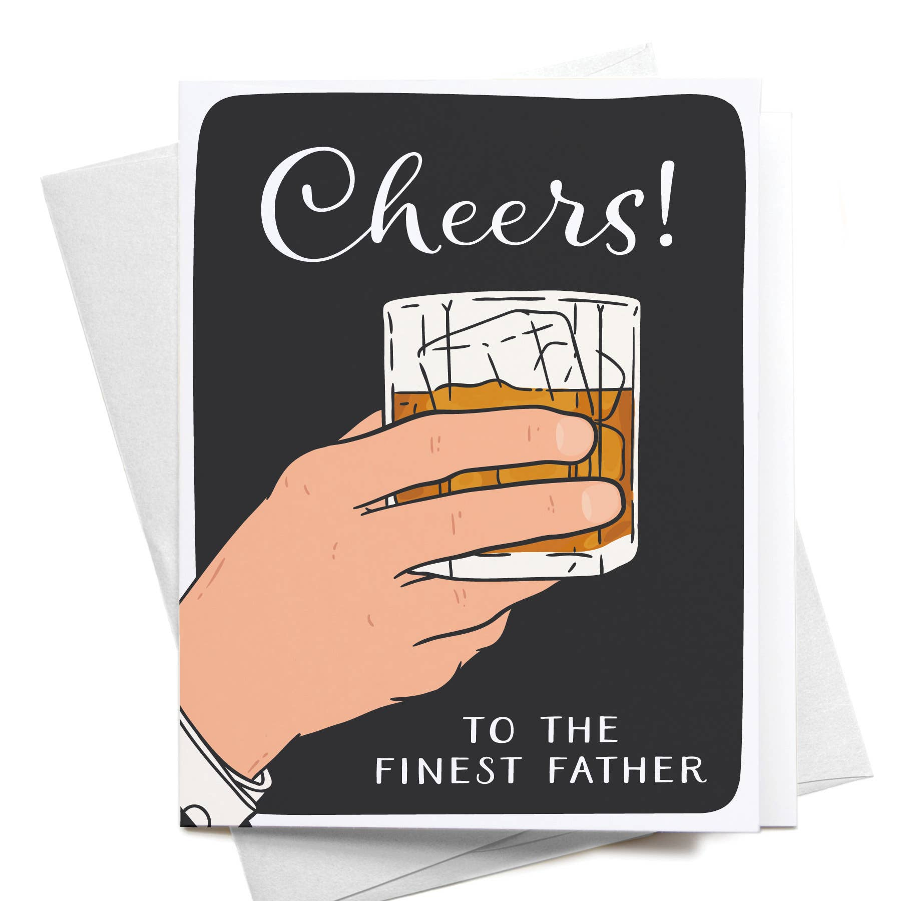 Cheers to the Finest Father