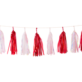 Candy Cane Tassel Garlands