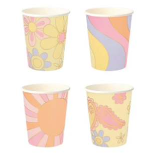 psychedlic party cups