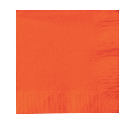 Sunkissed Orange Napkins
