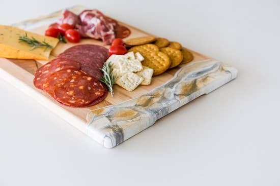White, Grey & Gold Cheeseboards