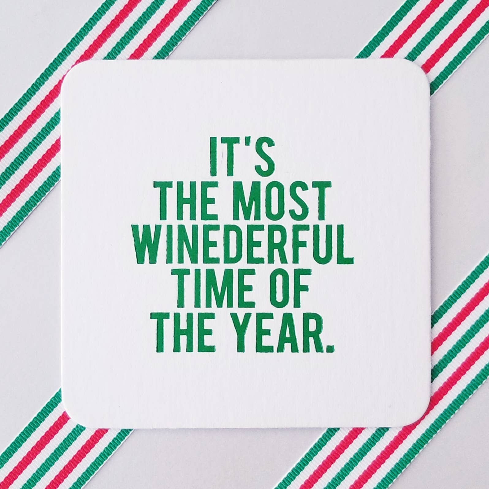 Winederful Time of Year Coasters