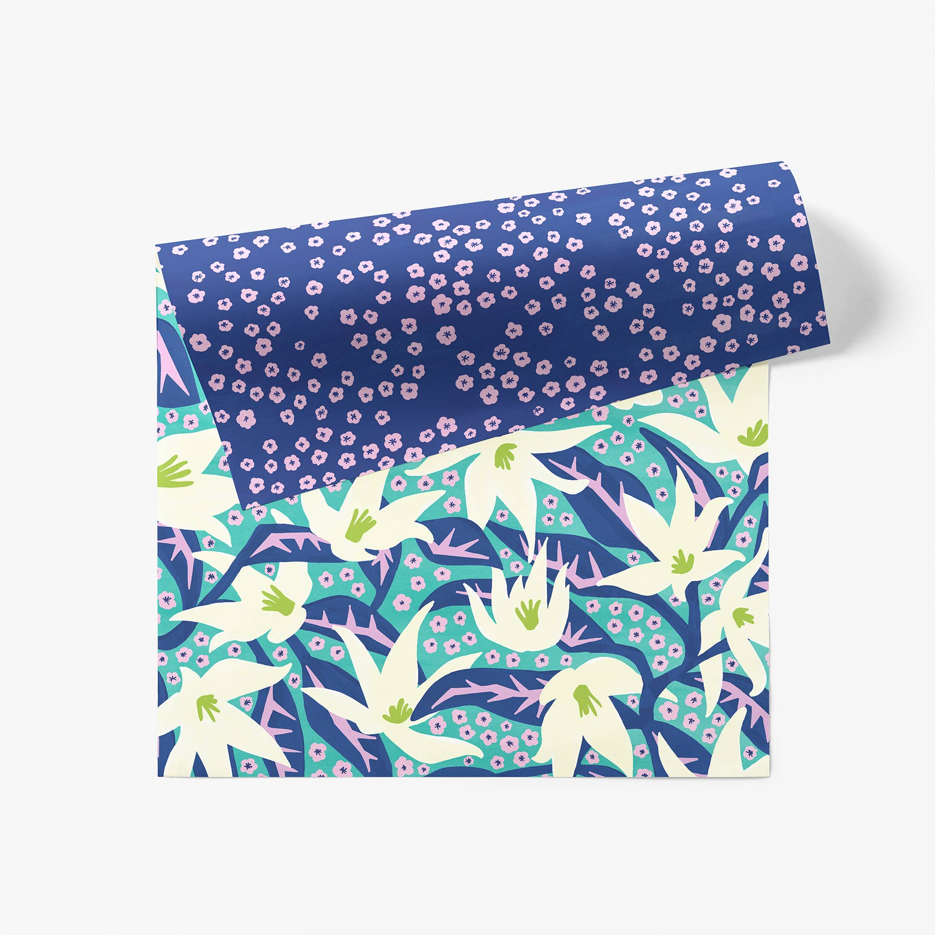 Lily Patch Gift Wrap