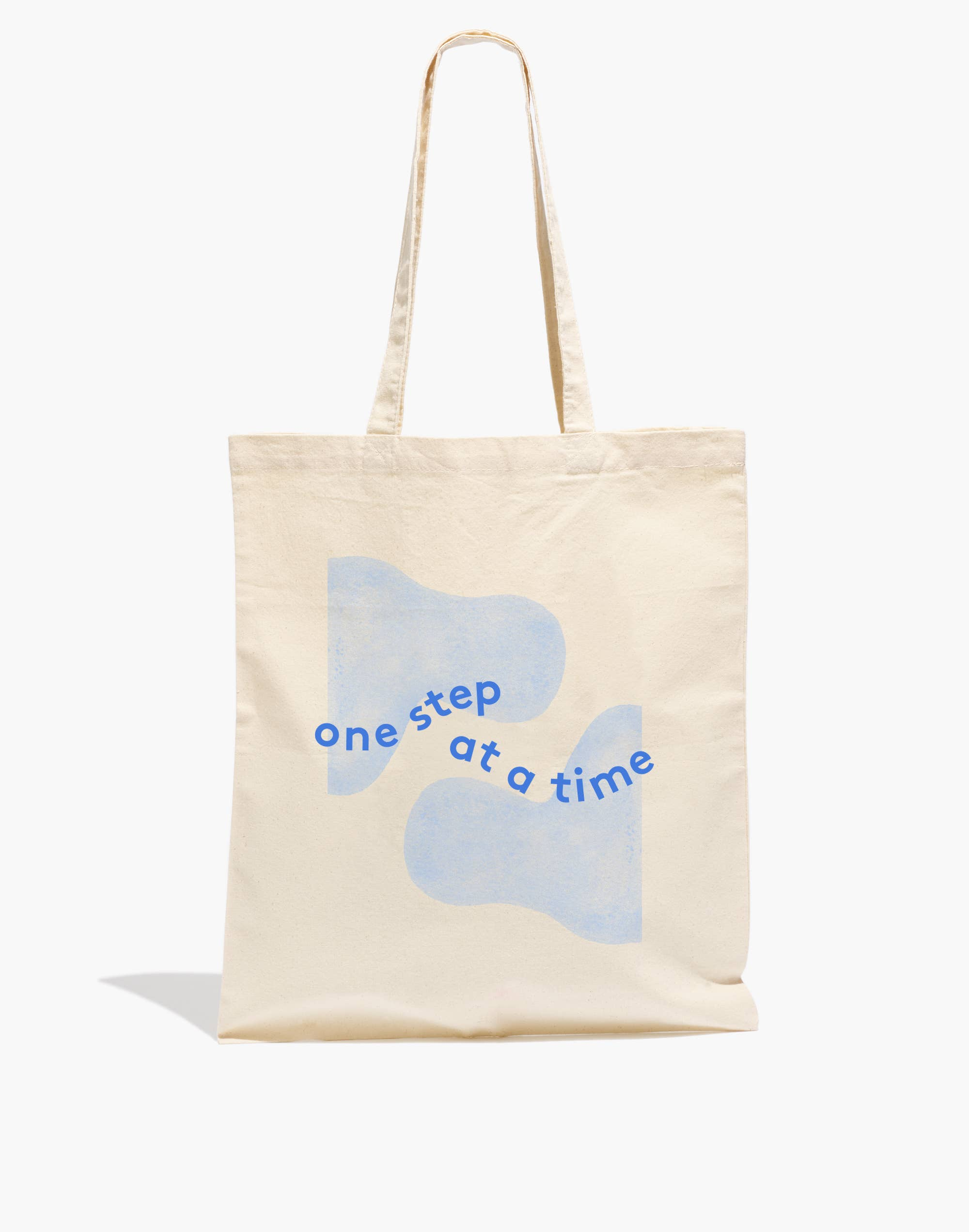One Step At a Time Tote