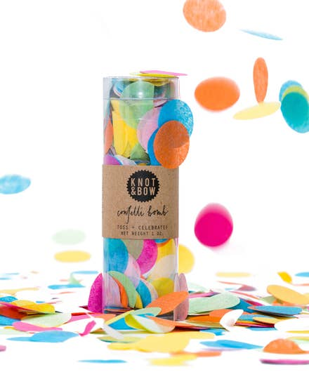 Multicolored Confetti Bomb