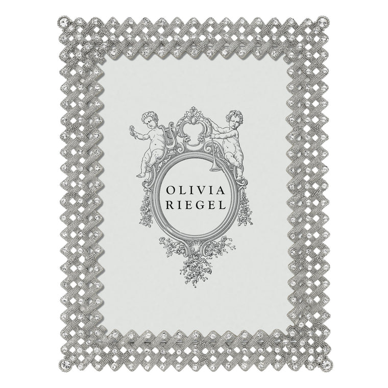 Silver Lattice Frame