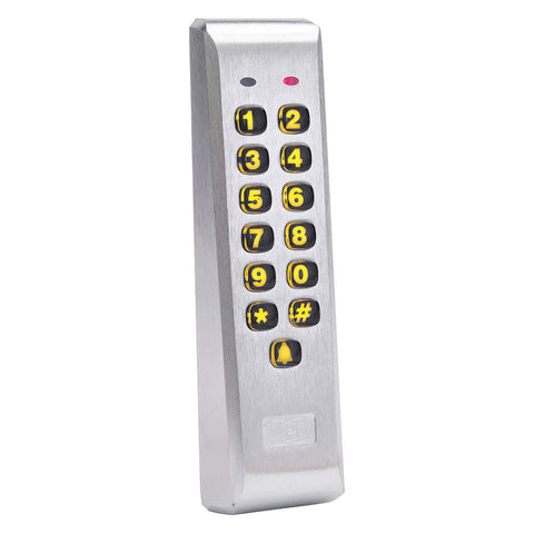 IEI 212ILM Aluminum Mullion Mount Back Lit Keypad