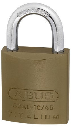 Abus 83/45 S2 Everest OB Padlock - Brass