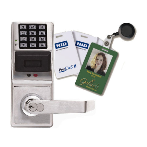 Alarm Lock PDL3000<br>Keyless Cylindrical Pin/Prox LockKeyless LocksAlarm Lock - Door Resources