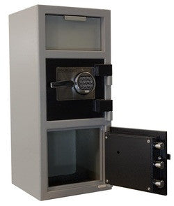 Hayman CV-F32-2-CC Cash Vault Front Load Depository Safe (Double Door)