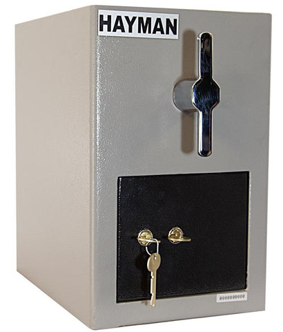 Hayman CV-H13 K Cash Vault Top Load Depository Safe-Single Door