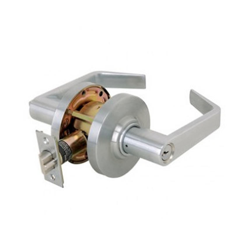 Cal-Royal XP00 Entrance Function Lever Lock, Grade 2, Sc1 Keyway