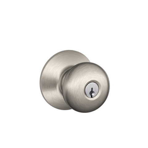 Schlage F51A Plymouth Knob Keyed Entry Lock