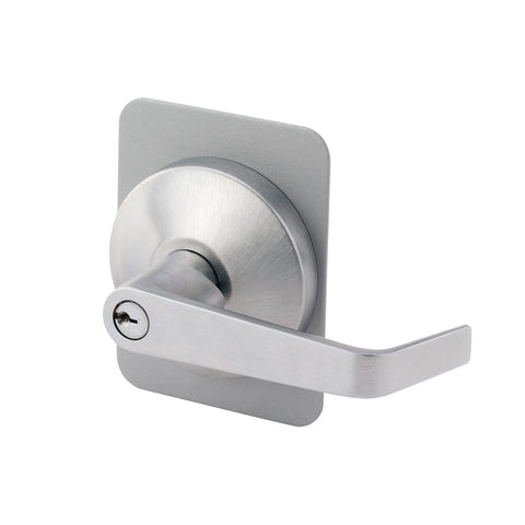 Falcon 914KIL<br>Outside Lever Trim For 19 Series Exit Devices, US32D Finish, Schlage C KeywayExit DevicesFalcon - Door Resources