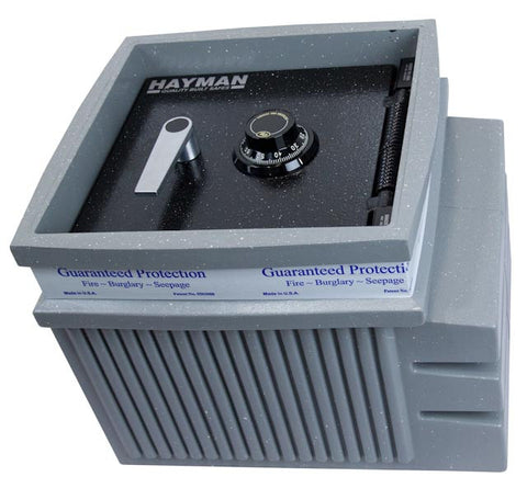 Hayman FS2300 In-Floor Safe Poly-Body-Made In The USA