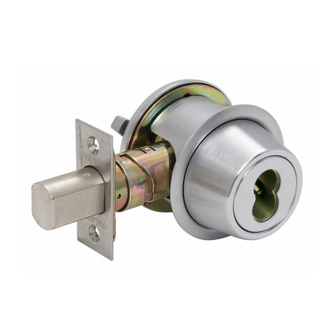 Falcon D241BD Single Cylinder Deadbolt with SFIC prep, 626 Finish