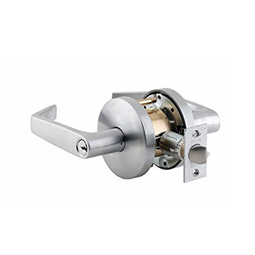 Falcon W581PD Storeroom Function Lever Lock, Schlage C Keyway