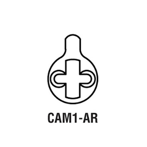 GMS CAM1-AR<br>Adams Rite Cam For Use with GMS Mortise CylinderMortise CylinderGMS - Door Resources