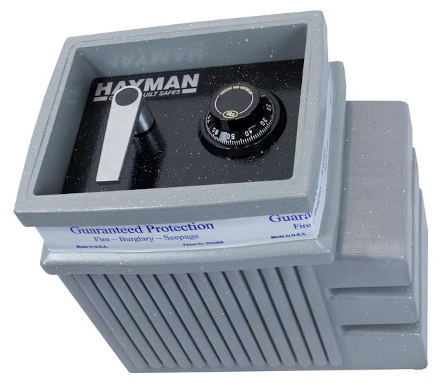 "Hayman FS1200 In-Floor Safe With Standard 1/2"" Thick Steel Door  - Made In USA"