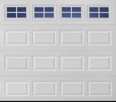 Amarr Stratford 3000 w/ Decorative Windows, Insulated, Steel Door