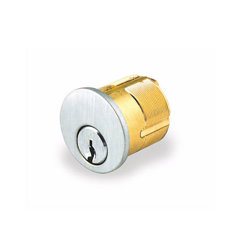 "GMS M118-G45-AT<br>1 1/8"" Mortise cylinder Schlage C145 keywayMortise CylinderGMS - Door Resources"