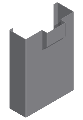 "Republic ME Series 3'0 x 7'0 x 5 3/4"" Commercial Hollow Metal Frame (For Masonry walls)"