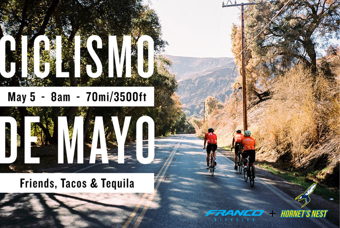 Ciclismo de Mayo Ride Approaches!