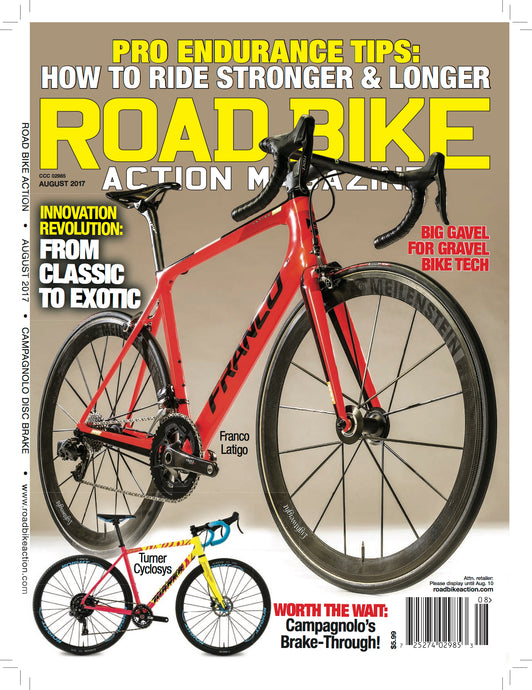 Review: Road Bike Action Magazine Cover