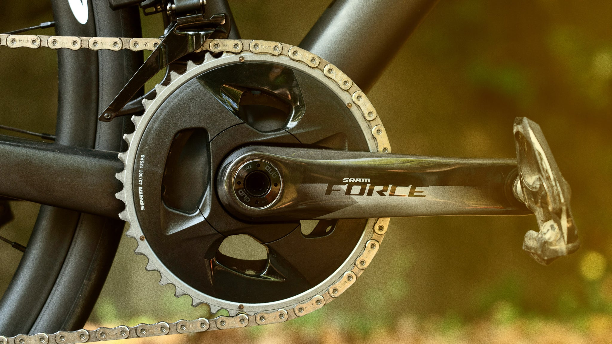 SRAM Force eTap AXS WIDE Crankset