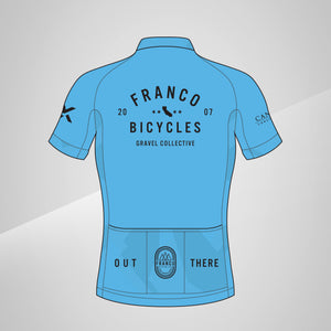 Gravel Collective Jersey Team Blue