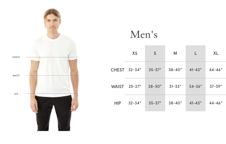 SMMT Sizing / Fit Guide