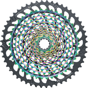 SRAM XX1 Eagle XG-1299 Cassette - 12-Speed, 10-52t, Rainbow, For XD Driver Body